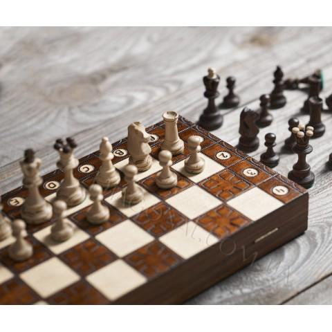 Шахматы деревянные юниор 42 см