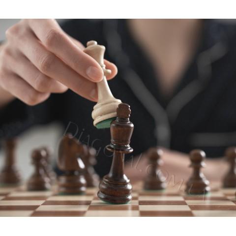 Шахматы деревянные Sunrise Poland Турнирные №4 CHW41