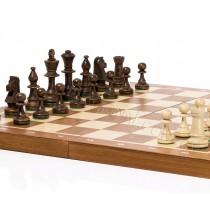 Деревянные турнирные шахматы №5 из граба CHW42