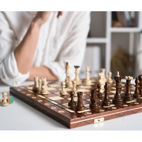 Подарочные шахматы Сенатор (Senator) Sunrise Poland 42 см CHW5