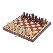 Деревянный шахматный набор размером 30x30 см