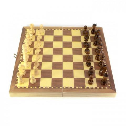 Деревянные шахматы с магнитом DN29816 29х29 см