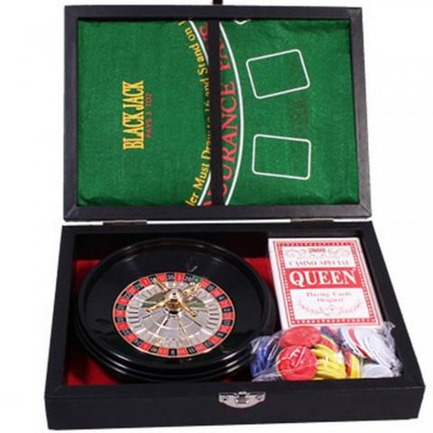 Набор для игры 2 в 1 Duke рулетка и мини-покер