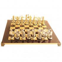 Шахматы Manopoulos красные S17RED Олимпийские игры 54x54 см