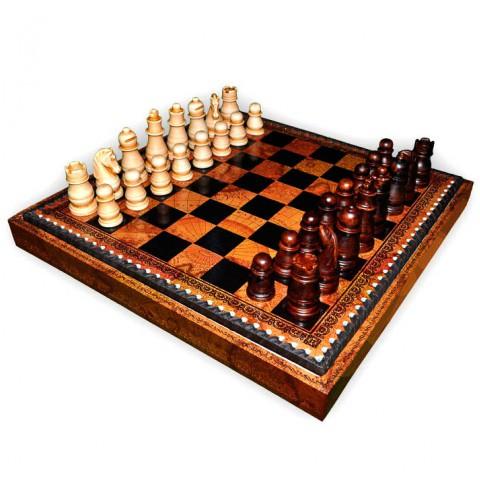 Классические фигуры шахматные деревянные Nigri Scacchi Classica small size