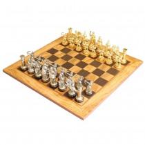 Шахматы класса люкс Manopoulos SE10 Оливковый совет 50x50 см