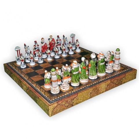 Фигуры шахматные Nigri Scacchi Александр Македонский medium size
