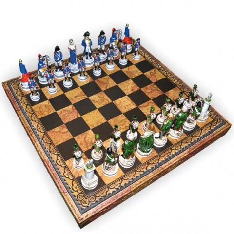 Шахматные фигуры Nigri Scacchi Бородинское сражение medium size