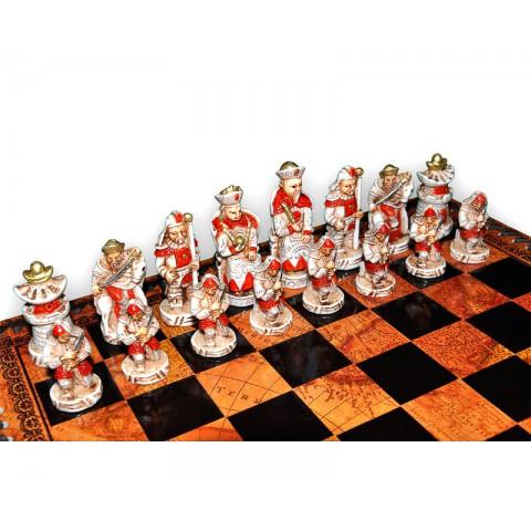 Шахматные фигуры Nigri Scacchi Империя Мин small size