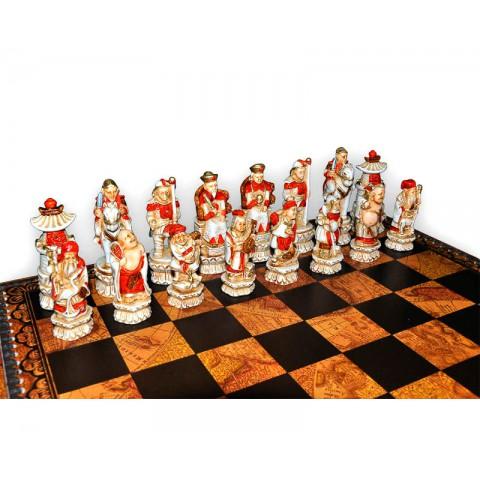 Фигуры шахматные Nigri Scacchi Империя Мин medium size