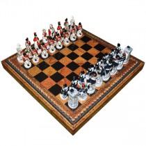 Шахматные фигуры Nigri Scacchi Битва при Ватерлоо small size