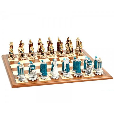 Фигуры шахматные Nigri Scacchi Людовик XIV extra size