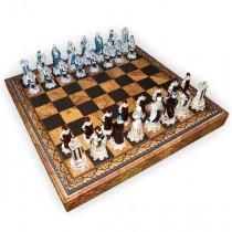 Шахматные фигуры Nigri Scacchi Людовик XIV medium size
