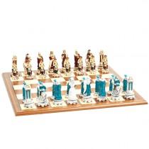 Фигуры шахматные Nigri Scacchi Людовик XIV small size