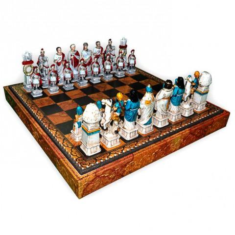Шахматные фигуры Nigri Scacchi Римляне и египтяне medium size