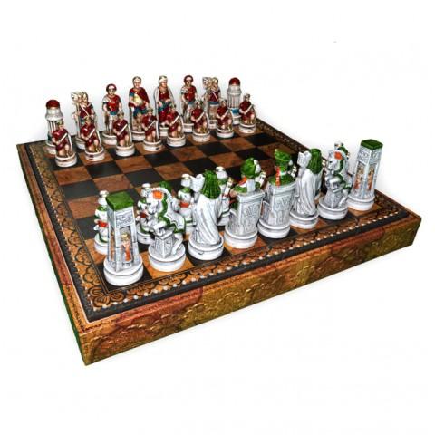Фигуры шахматные Nigri Scacchi Клеопатра medium size