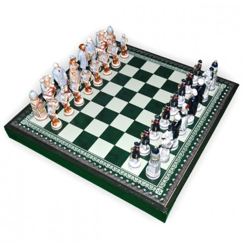 Шахматные фигуры Nigri Scacchi Битва при Геттисберге small size