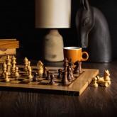 Исторические деревянные шахматы 40x40 см staunton chessmen
