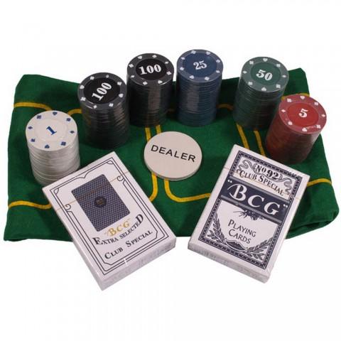 Покерный набор TC04120 Duke с номиналом 120 фишек