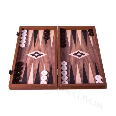 Нарды деревянные Manopoulos TXL1KK орех и дуб 48х25 см