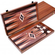 Нарды деревянные венге Manopoulos TXL1KV орех дуб 48x25 см