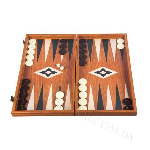 Игровой набор нарды доска-футляр орех дуб 48x25 см