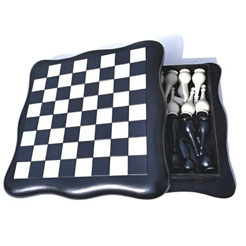 Шахматный набор start black доска футляр 40x40 см