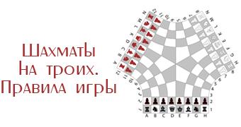 Как играть в шахматы на троих игроков