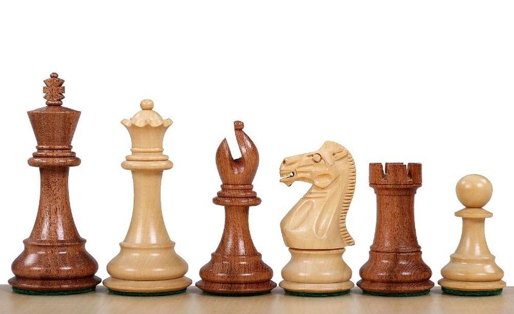 Фигуры шахматные спокойный конь коричневые №6